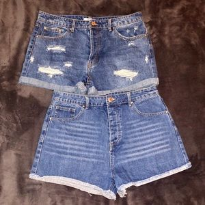 *BUNDLE* forever 21 high waisted shorts